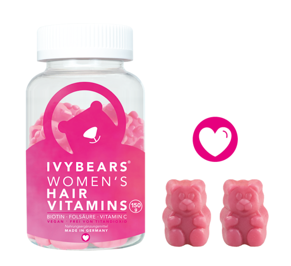 IvyBears Woman's Hair Vitamins